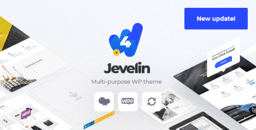 Jevelin | Thème AMP WordPress réactif polyvalent