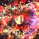 Glitter Love Titles