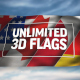 Unlimited 3D Flags