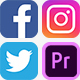 Social Media Icons with Links