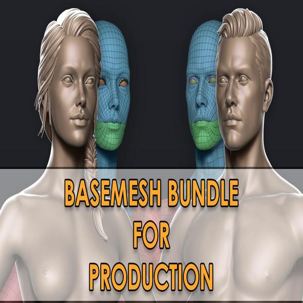 Male / Female Basemesh Bundle