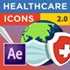Healthcare Icons (Coronavirus)