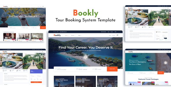 , Bookly – Tour & Travel Booking System, Laravel & VueJs, Laravel & VueJs