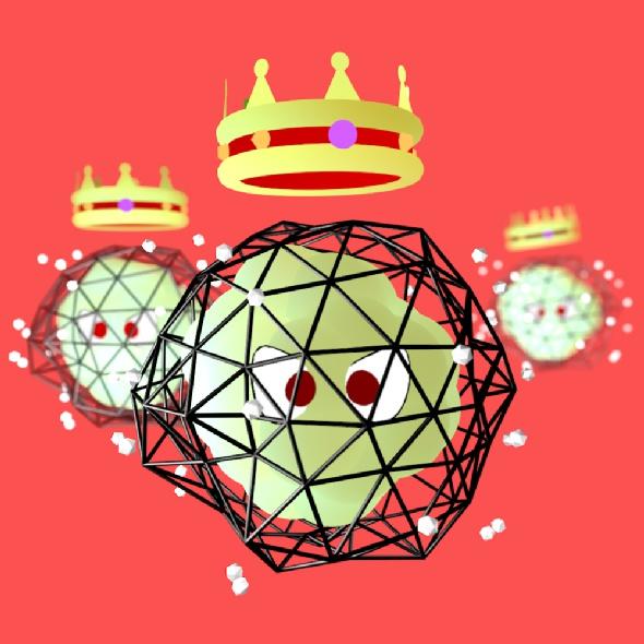la corona del virus