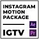 Clouder | Motion Pack for IGTV Instagram