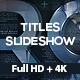 Titles Slideshow