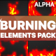Burning Elements | Motion Graphics Pack