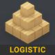 Logistic | 3D Isometric Pack