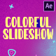 Colorful Liquid Slideshow | After Effects