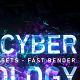 Digital Cyber Technology Logo Reveal. 8 Color Presets.