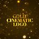 Gold Cinematic Logo Mogrt