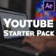 Youtube Blog Starter Pack | After Effects