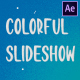 Colorful Cartoon Slideshow | After Effects