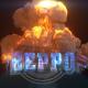 Explosion Glitch Logo
