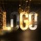 Glowing Particals Logo Reveal 36 : Golden Particals 12