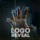 Scan Fingerprint Biometrics Logo Reveal