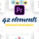 Statistic Infographics Vol.34 for Premiere Pro