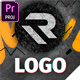 Grunge Scribble Logo