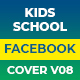 Kids School Facebook Cover Animate V08