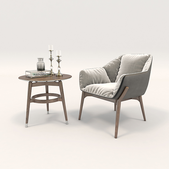 Modern Armchair Design Set 2
