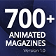 The Biggest Pack of Animated Magazines