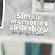 Simple Memories Slideshow