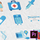 36 Medical Animated Icons - Mogrt