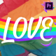 LGBTQ Titles And Scenes | Premiere Pro MOGRT