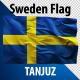 Sweden Flag 2K