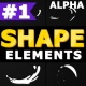 Cartoon Shape Elements | Motion Graphics Pack