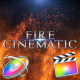 Fire Cinematic Titles - Apple Motion