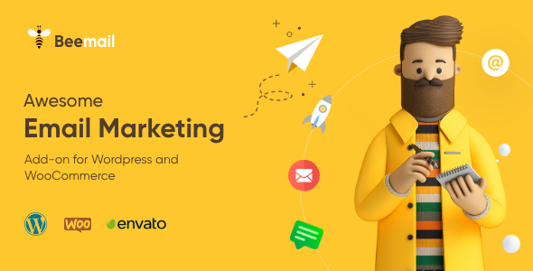 , BeeMail – Email Marketing Plugin for WordPress & WooCommerce, Laravel & VueJs