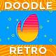 Doodle Retro Logo