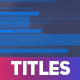 Business Colored Stripes Titles