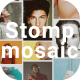 Mosaic Stomp Multi Photo Logo