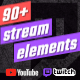 Stream Elements - Alerts, Overlays, Screens