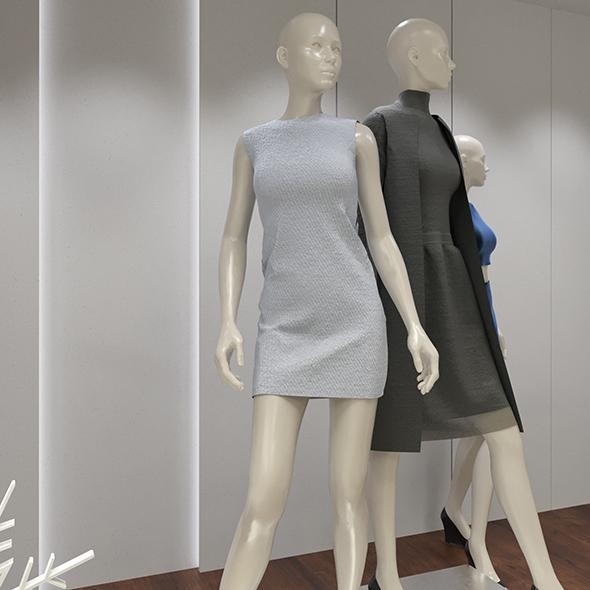 Cloth shop display