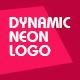 Dynamic Neon Logo