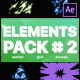 Energy Elements Pack 02 | After Effects