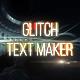 Glitch Text Animator