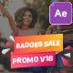 Badges Sale Promo V18