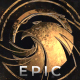 Epic Gold And Silver Logo Reveal