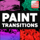 Dynamic Paint Transitions | Motion Graphics