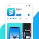 Clean Minimal Mobile App Promo Video