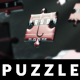 Dark Puzzle Logo Reveal