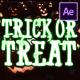 Halloween Cartoon Titles | After Effects