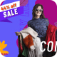 Autumn sale promo