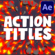 Action Titles | After Effects
