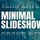Minimal Slideshow Big Titles