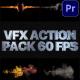 VFX Action Pack | Premiere Pro MOGRT